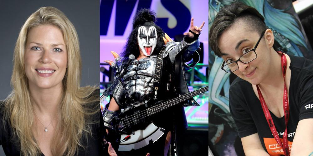 Who is the girl in the gene simmons sex video